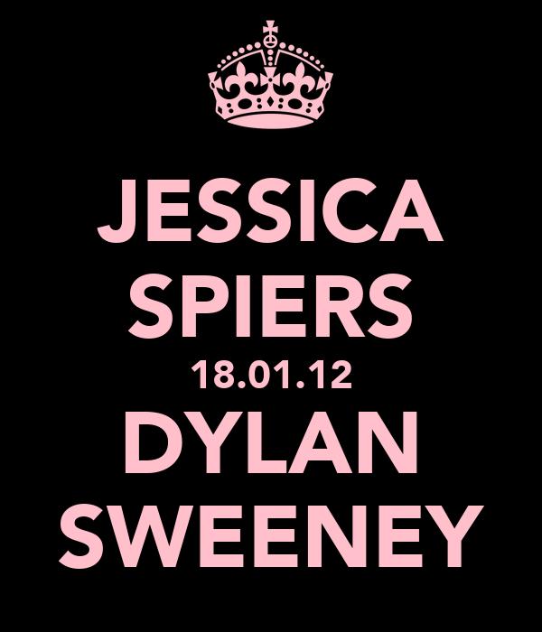 JESSICA SPIERS 18.01.12 DYLAN SWEENEY