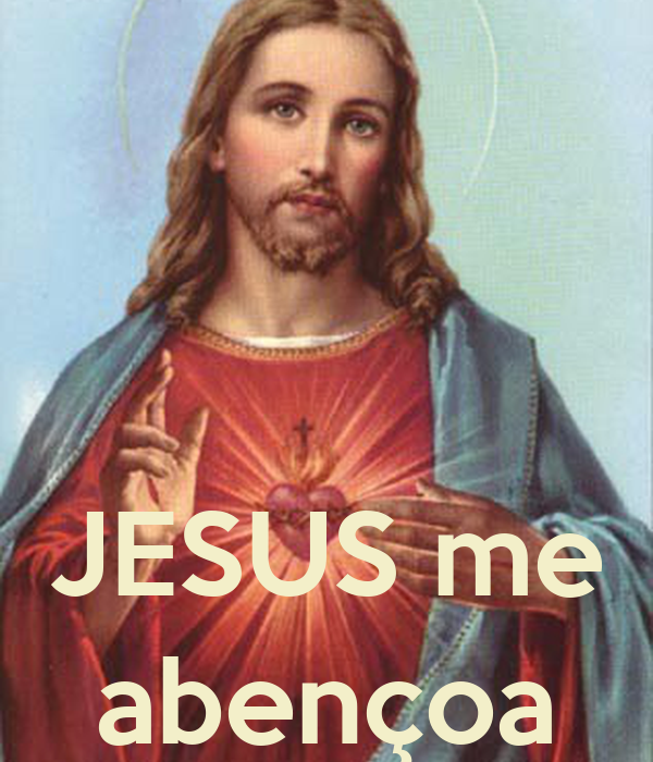 JESUS me abençoa