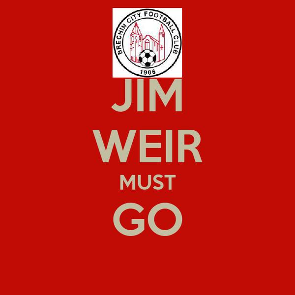 JIM WEIR MUST GO