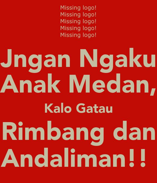 Jngan Ngaku Anak Medan, Kalo Gatau Rimbang dan Andaliman!!
