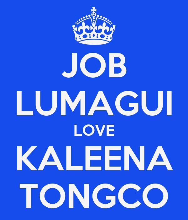 JOB LUMAGUI LOVE KALEENA TONGCO