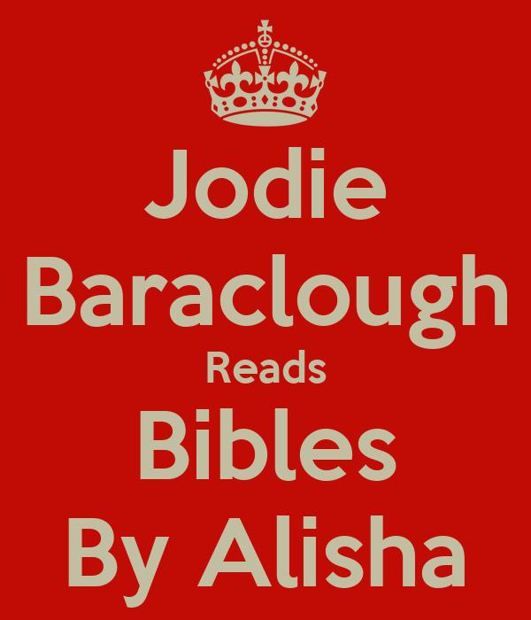 Jodie Baraclough Reads Bibles By Alisha