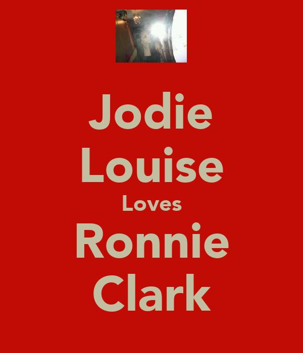 Jodie Louise Loves Ronnie Clark