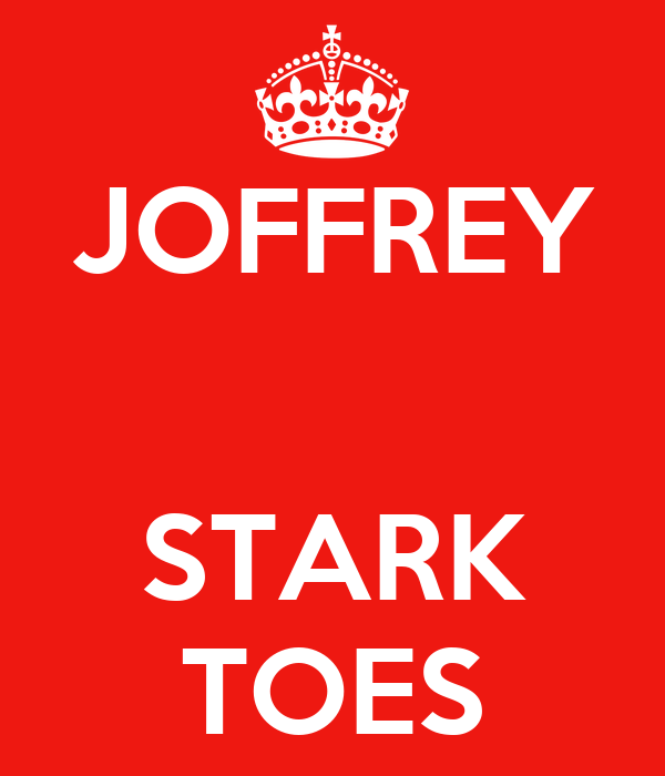 JOFFREY   STARK TOES