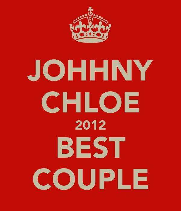 JOHHNY CHLOE 2012 BEST COUPLE