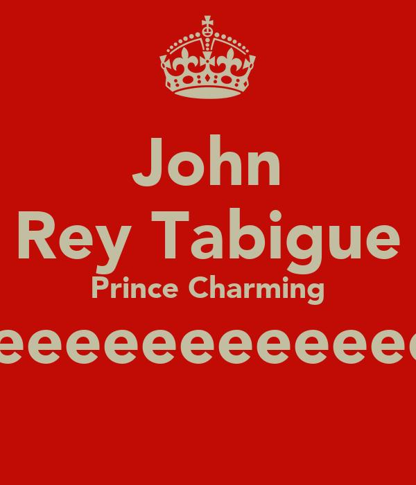 John Rey Tabigue Prince Charming weeeeeeeeeeeee