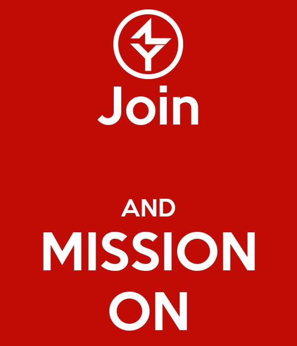 Join  AND MISSION ON