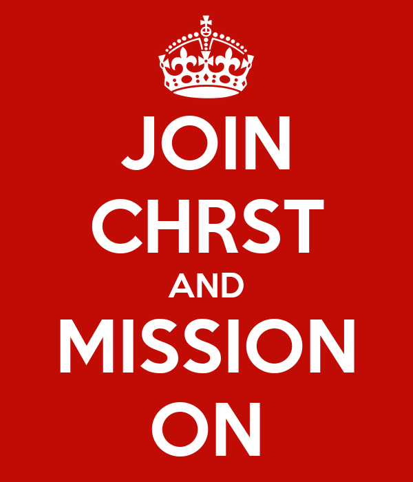 JOIN CHRST AND MISSION ON
