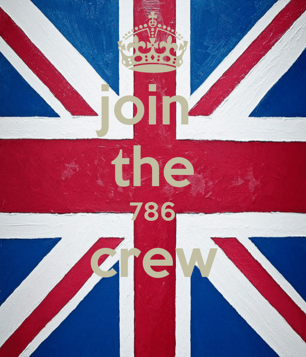 join  the 786 crew