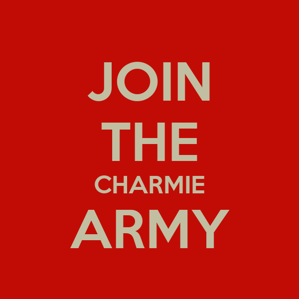 JOIN THE CHARMIE ARMY