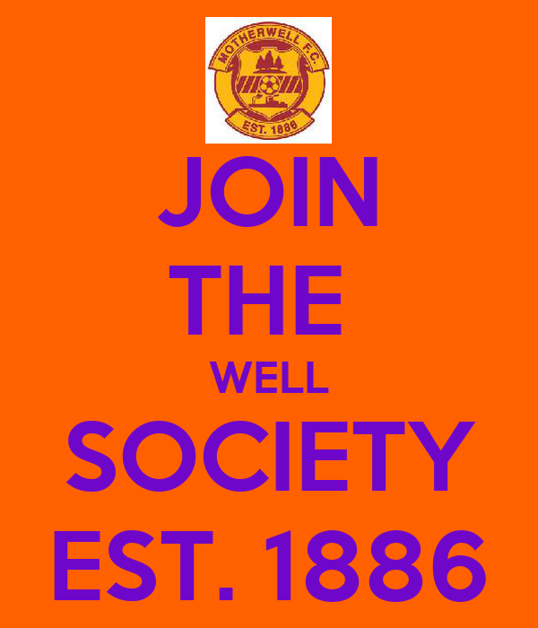 JOIN THE  WELL SOCIETY EST. 1886