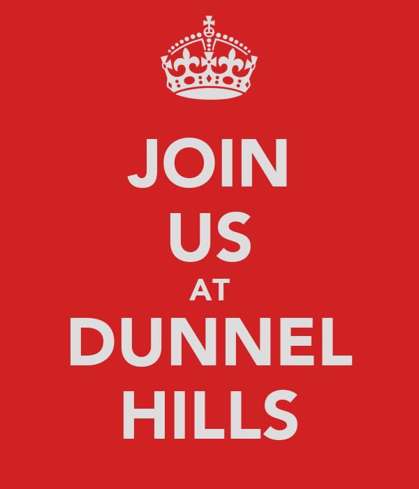 JOIN US AT DUNNEL HILLS