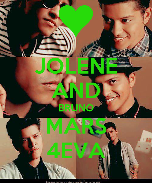 JOLENE AND BRUNO MARS 4EVA