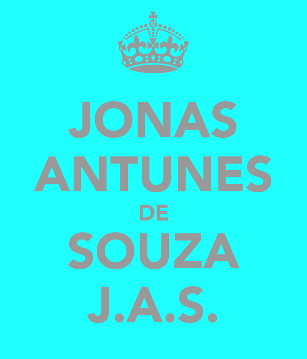 JONAS ANTUNES DE SOUZA J.A.S.