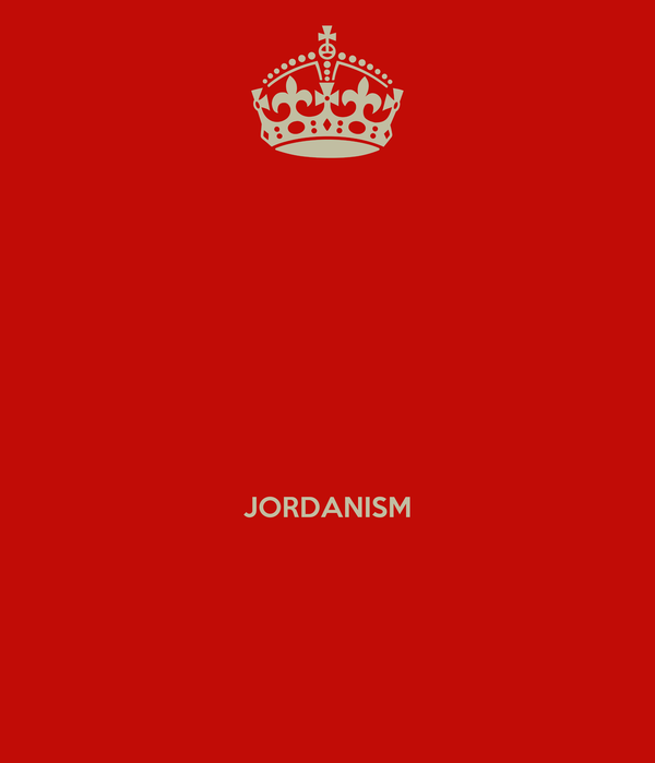 JORDANISM