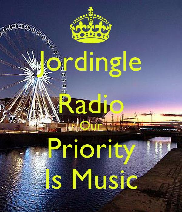 Jordingle Radio Our Priority Is Music