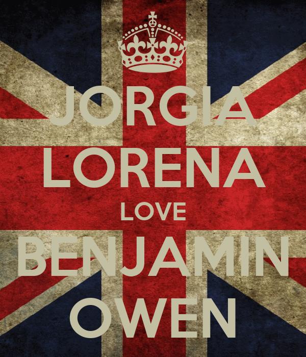 JORGIA LORENA LOVE BENJAMIN OWEN