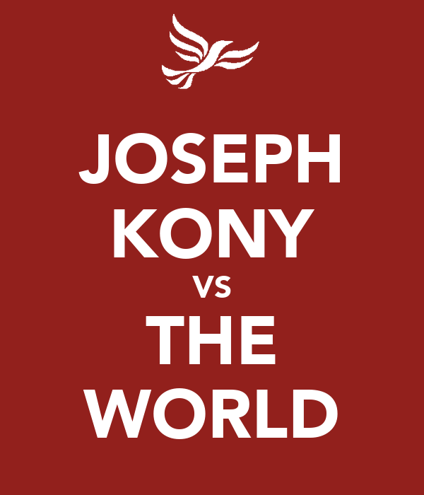 JOSEPH KONY VS THE WORLD