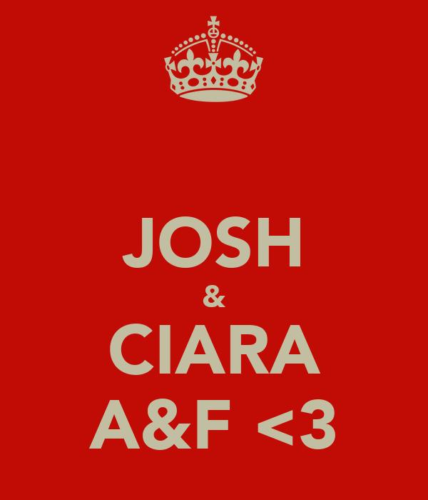 JOSH & CIARA A&F <3