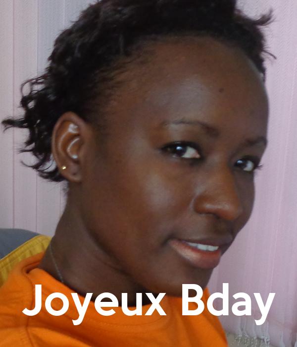 Joyeux Bday