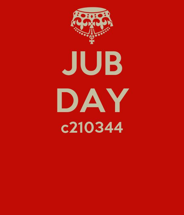 JUB DAY c210344