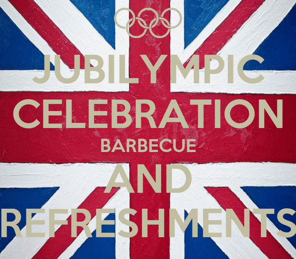 JUBILYMPIC CELEBRATION BARBECUE AND REFRESHMENTS