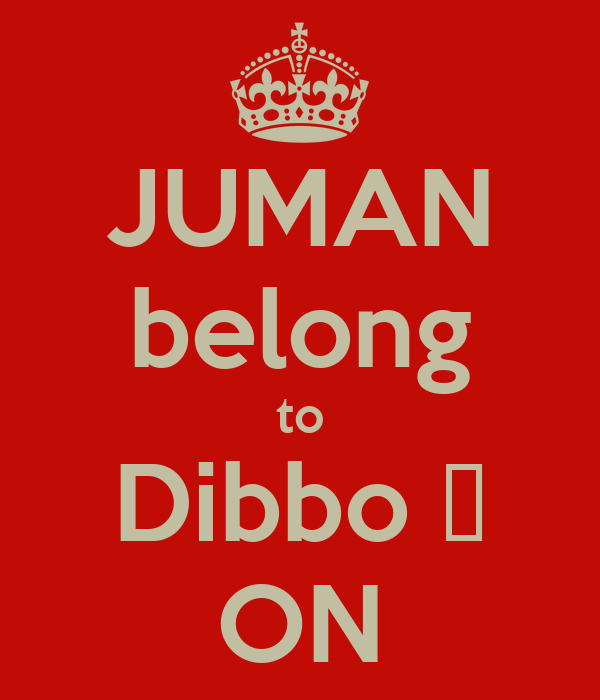 JUMAN belong to Dibbo ♥ ON
