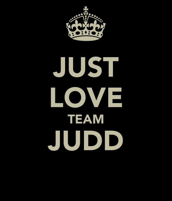 JUST LOVE TEAM JUDD