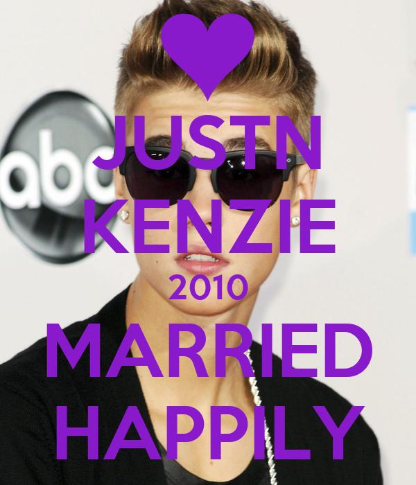 JUSTN KENZIE 2010 MARRIED HAPPILY