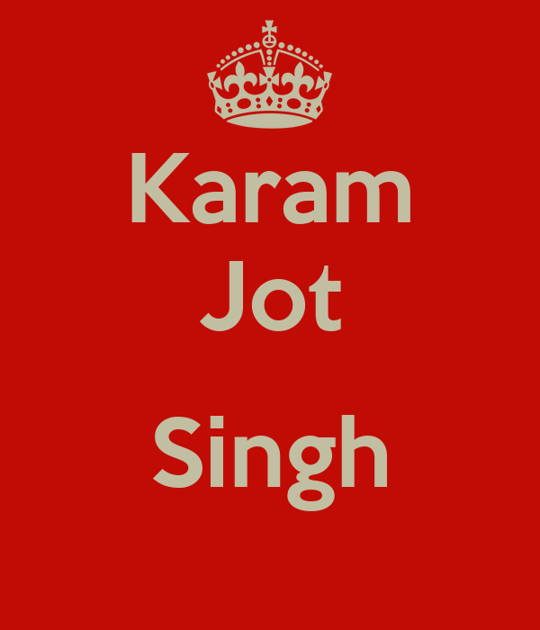 Karam Jot  Singh