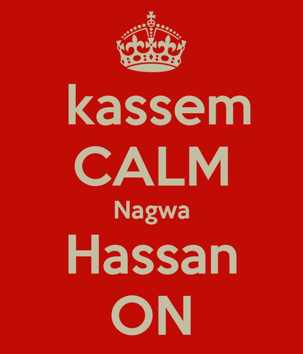 kassem CALM Nagwa Hassan ON