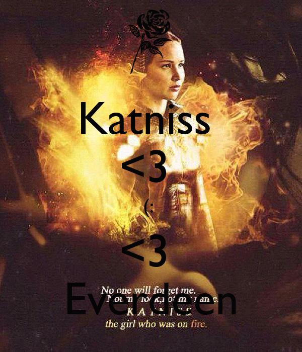 Katniss  <3  (:  <3  Everdeen