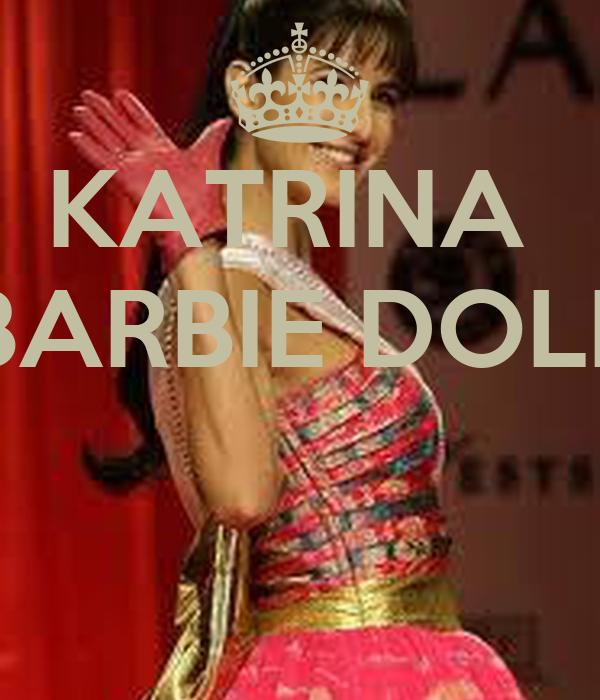 KATRINA  BARBIE DOLL