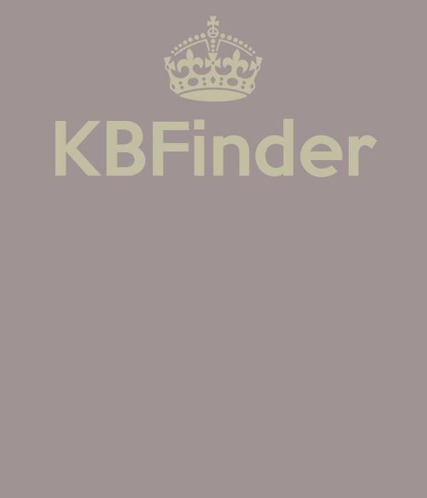KBFinder