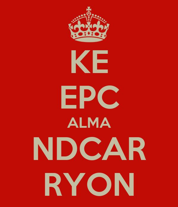 KE EPC ALMA NDCAR RYON