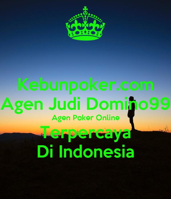 Daftar judi poker online terpercaya di indonesia