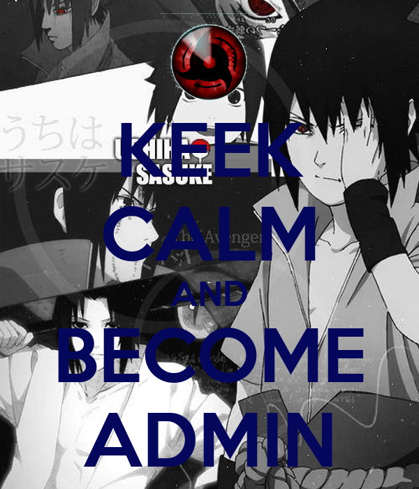 KEEK CALM AND BECOME ADMIN