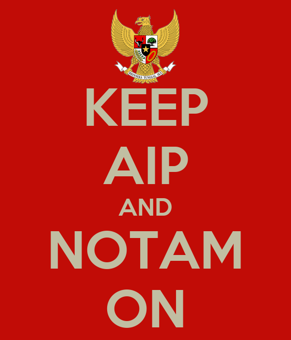 KEEP AIP AND NOTAM ON