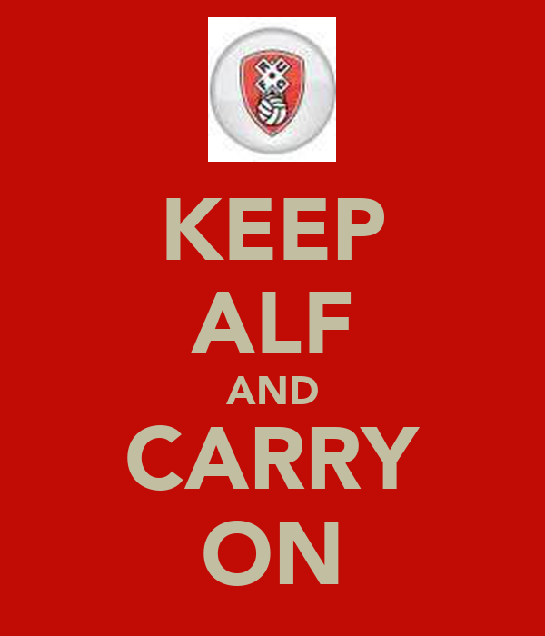 KEEP ALF AND CARRY ON