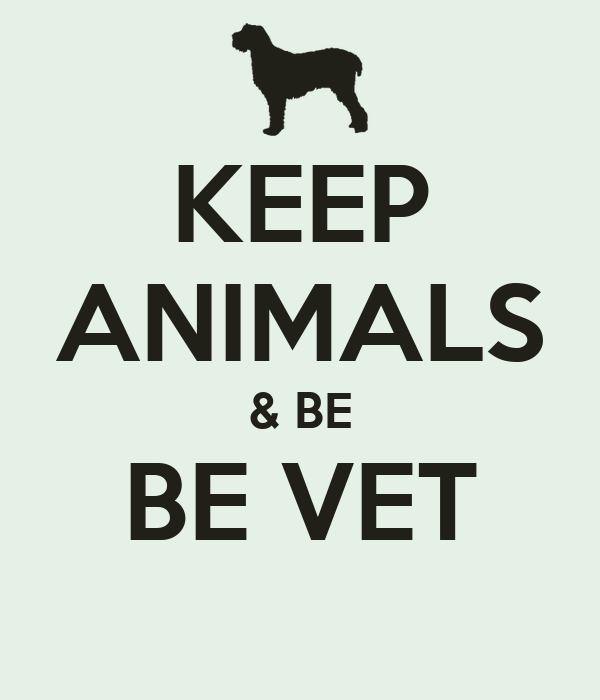 KEEP ANIMALS & BE BE VET