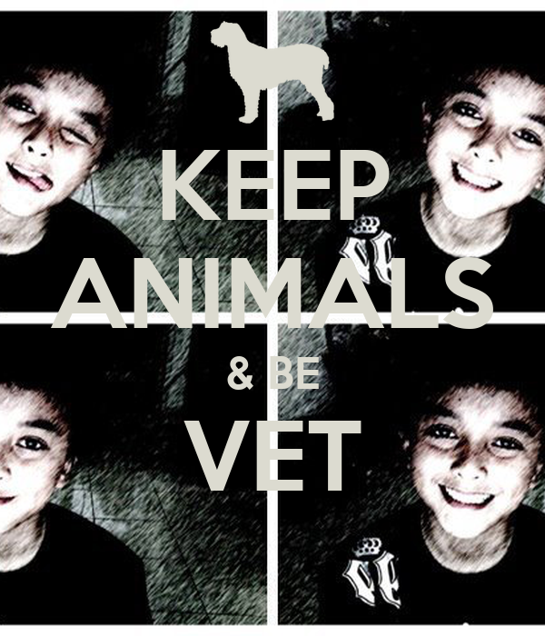 KEEP ANIMALS & BE VET