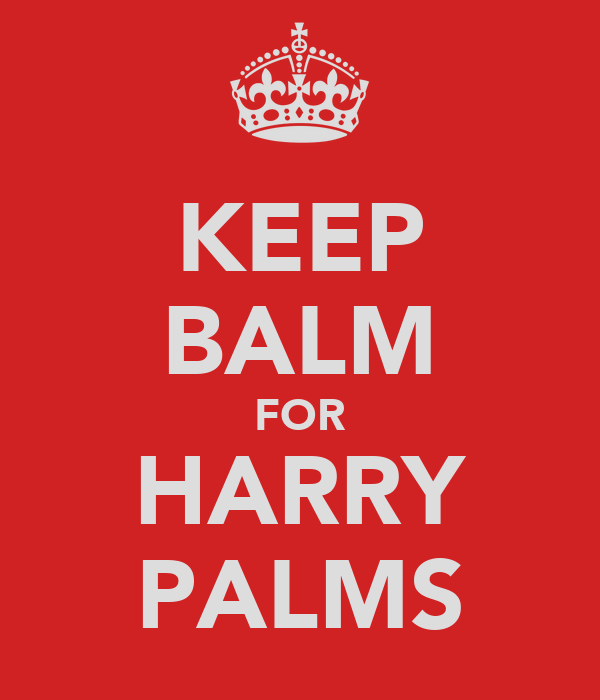 KEEP BALM FOR HARRY PALMS