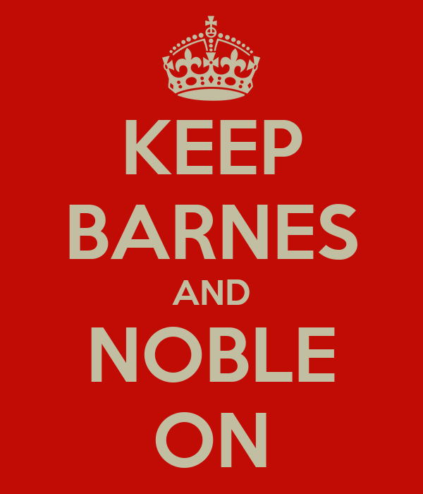 KEEP BARNES AND NOBLE ON