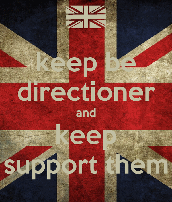 keep be directioner and keep support them