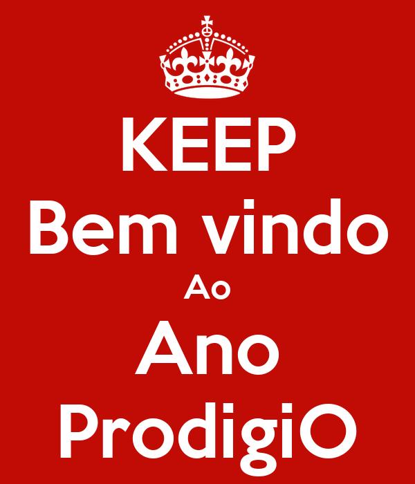 KEEP Bem vindo Ao Ano ProdigiO