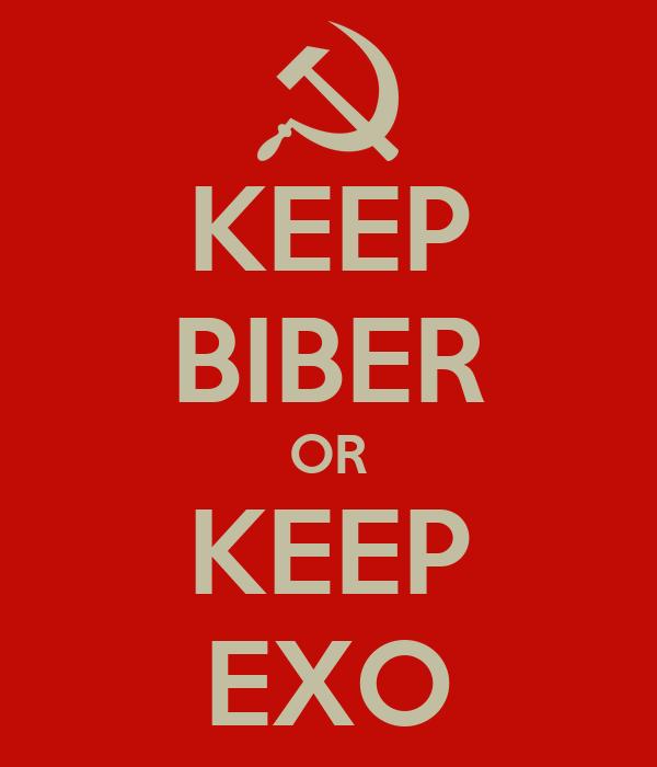 KEEP BIBER OR KEEP EXO