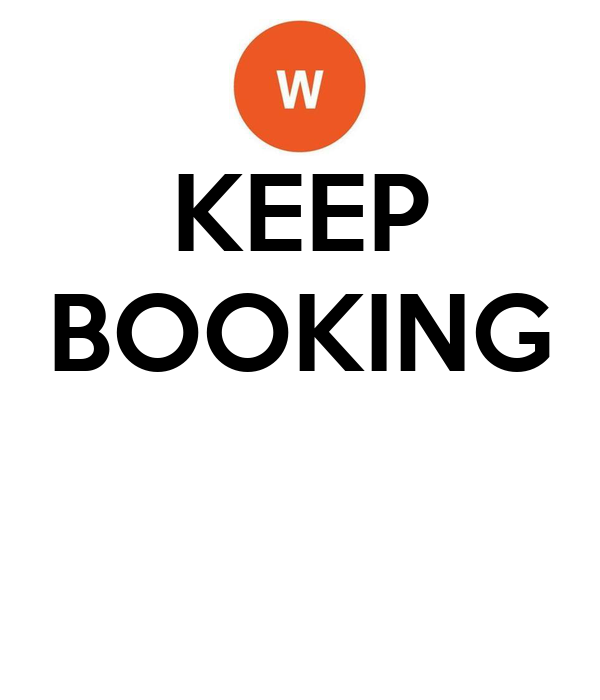 KEEP BOOKING