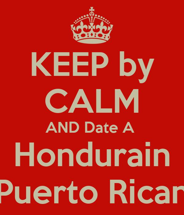 KEEP by CALM AND Date A  Hondurain Puerto Rican