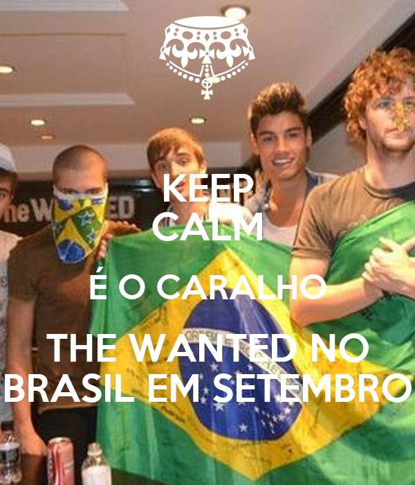 KEEP CALM É O CARALHO THE WANTED NO BRASIL EM SETEMBRO