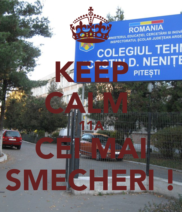 KEEP CALM  11A CEI MAI SMECHERI !